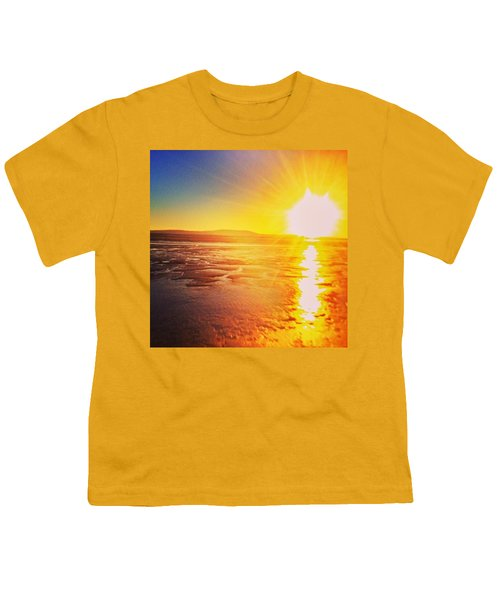 College Sunset Youth T-Shirt