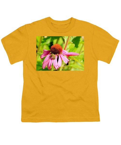 Echinacea Bee Youth T-Shirt