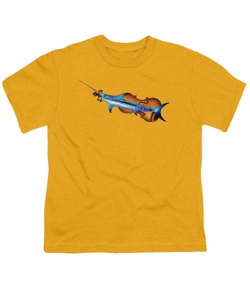Fisholin V1 - Instrumental Fish Youth T-Shirt by Cersatti