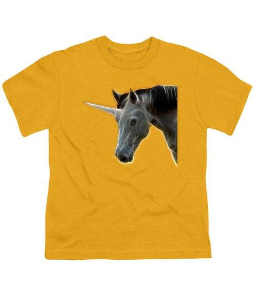 Glowing Unicorn Youth T-Shirt