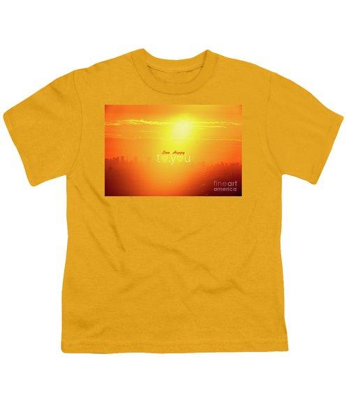 To You #002 Youth T-Shirt by Tatsuya Atarashi