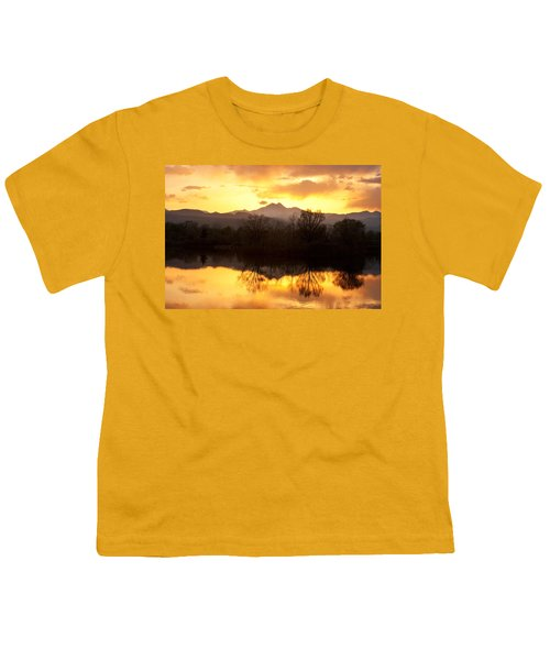 Golden Ponds Longmont Colorado Youth T-Shirt