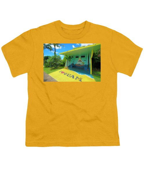 Guam Bus Stop Youth T-Shirt