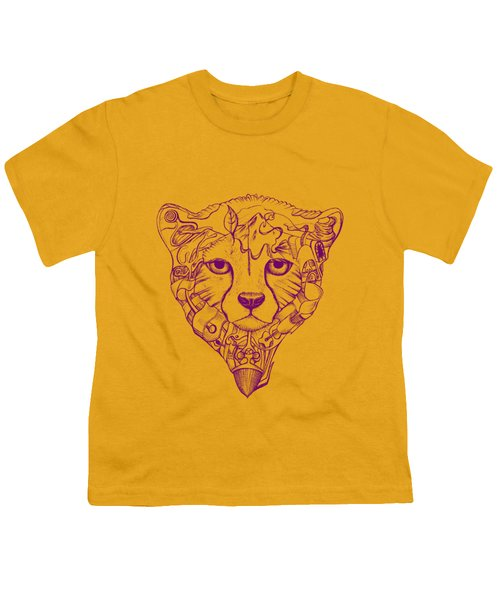 Iranian Cheetah Youth T-Shirt by Adam Campbell