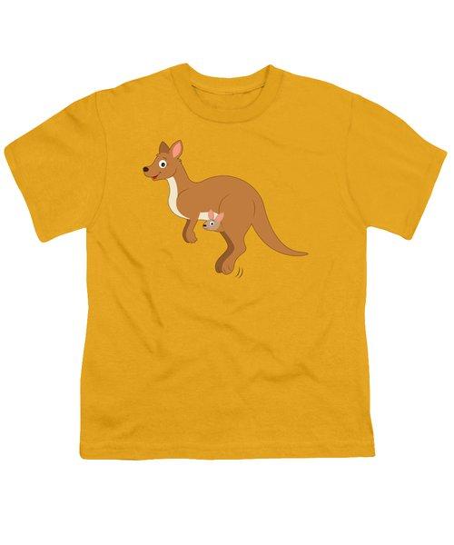 Mamma Kangaroo And Joey Youth T-Shirt
