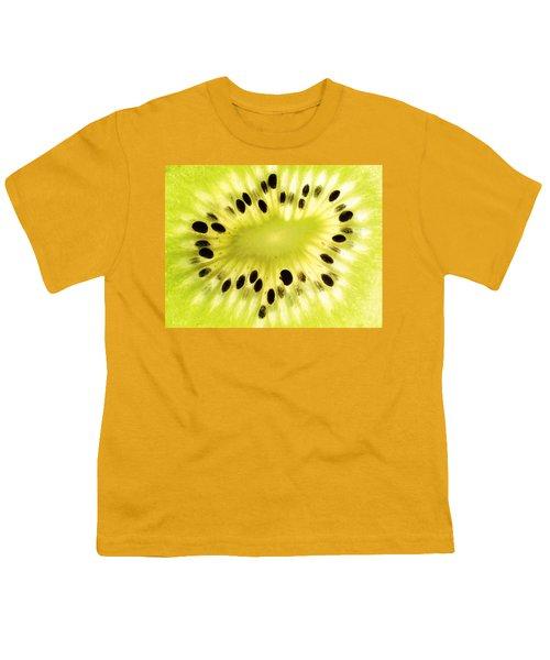 Kiwi Fruit Youth T-Shirt by Paul Ge