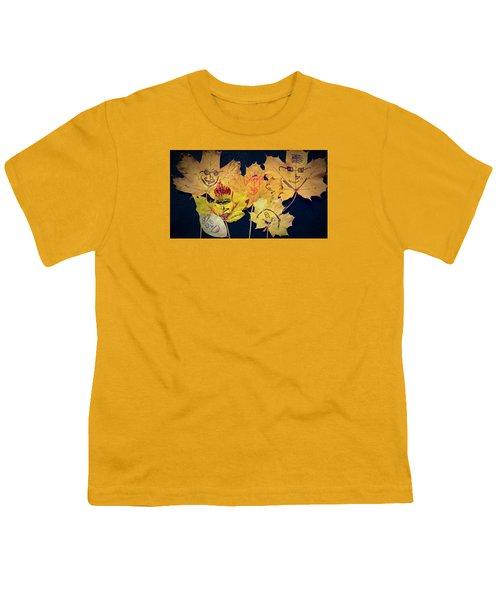 Leaf Family Youth T-Shirt by Jana E Provenzano