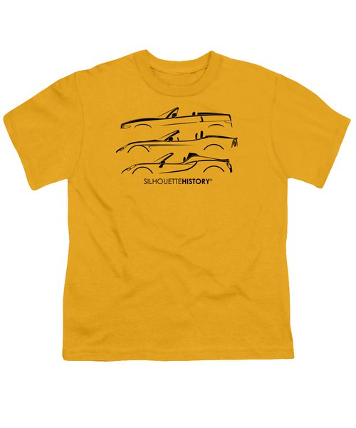 Lombard Roadster Silhouettehistory Youth T-Shirt