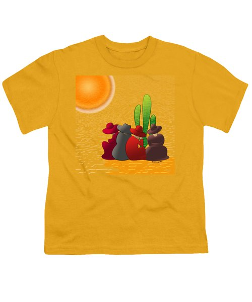 Midday Siesta Youth T-Shirt by Methune Hively