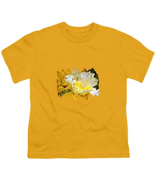 Morning Iris Youth T-Shirt by Thom Zehrfeld
