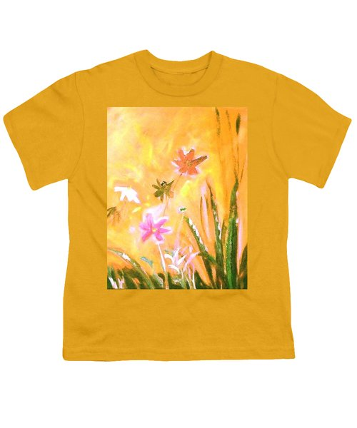 New Daisies Youth T-Shirt by Winsome Gunning