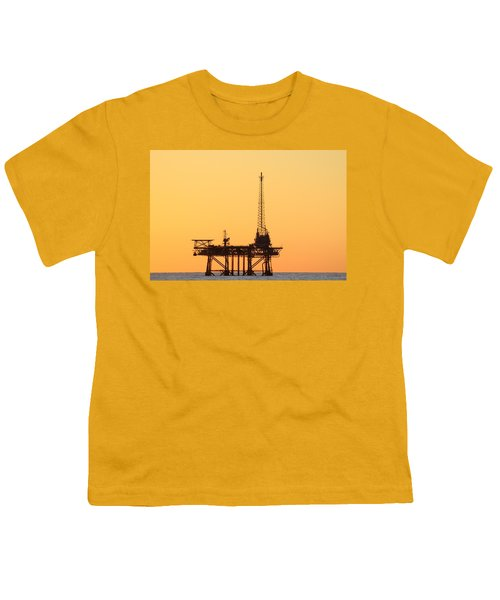 Offshore Oil And Gas Platform  Youth T-Shirt