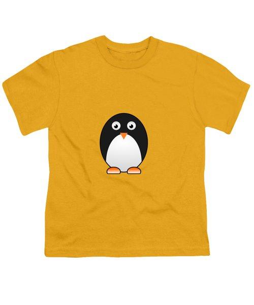 Penguin - Birds - Art For Kids Youth T-Shirt