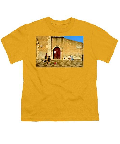 Playing In Taormina Youth T-Shirt