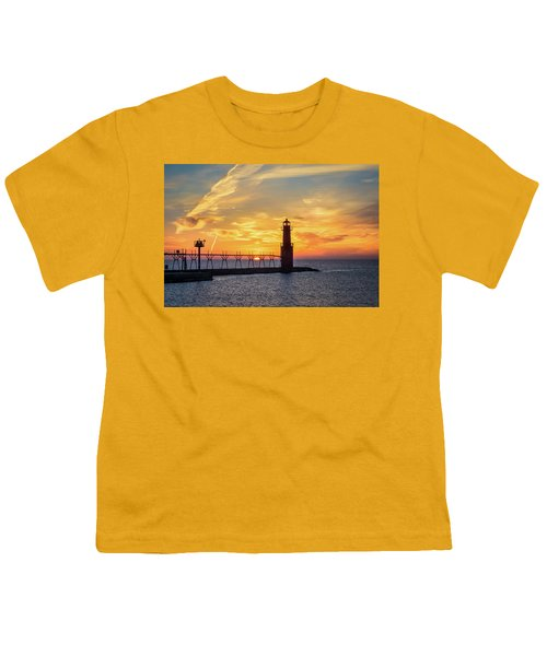 Youth T-Shirt featuring the photograph Serious Sunrise by Bill Pevlor