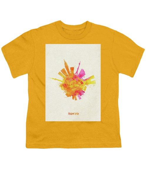 Skyround Art Of Tokyo, Japan  Youth T-Shirt