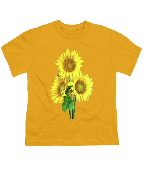 Sunflower Dreaming Youth T-Shirt