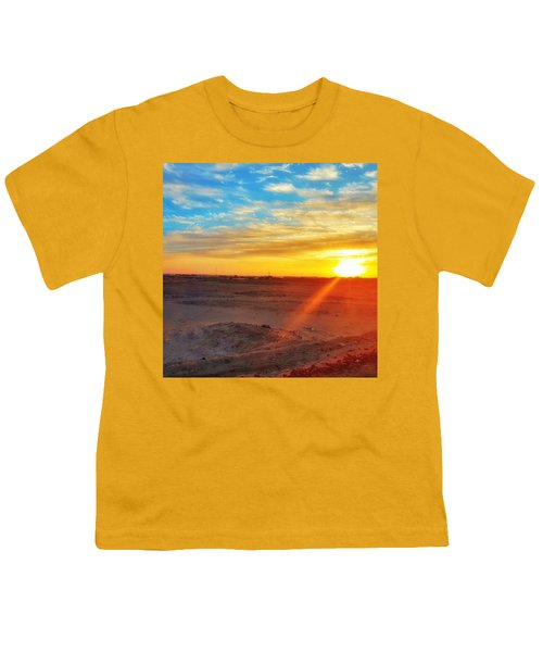 Sunset In Egypt Youth T-Shirt
