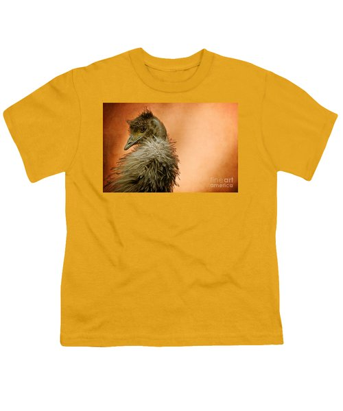 That Shy Come-hither Stare Youth T-Shirt by Lois Bryan