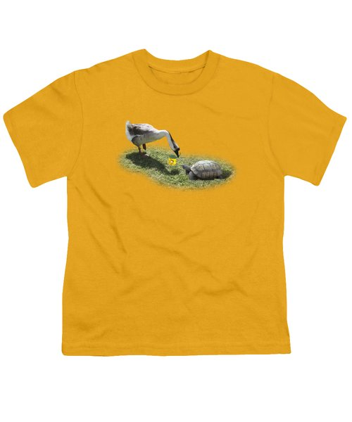 The Goose And The Turtle Youth T-Shirt by Gravityx9   Designs