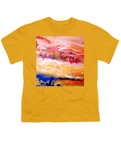 The Living Dunes Youth T-Shirt by Winsome Gunning