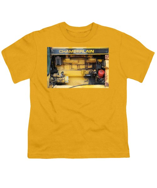 Youth T-Shirt featuring the photograph Tractor Engine Iv by Stephen Mitchell