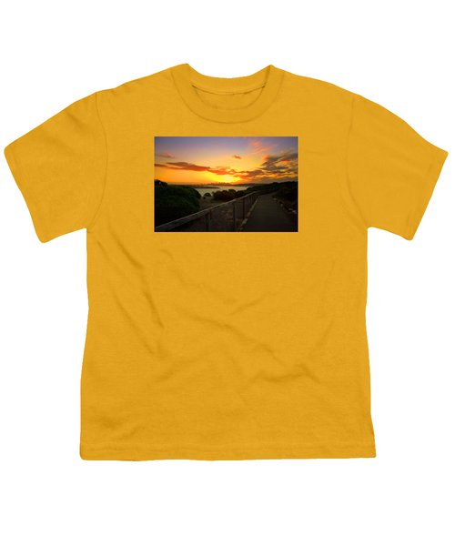 Youth T-Shirt featuring the photograph While You Walk by Miroslava Jurcik