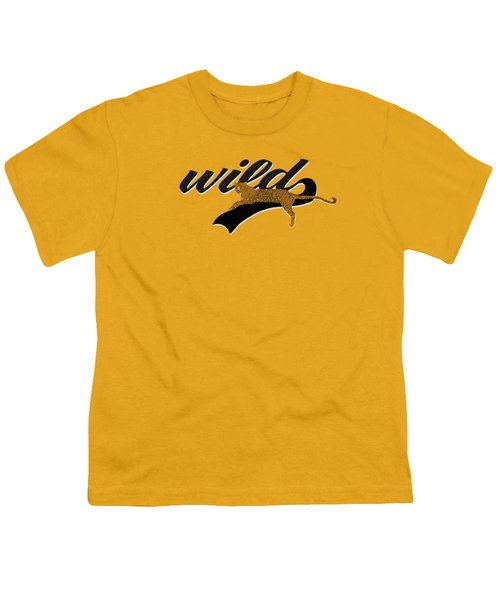 Wild Youth T-Shirt by Priscilla Wolfe
