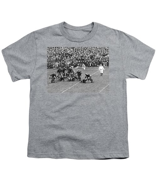 Notre Dame-army Football Game Youth T-Shirt by Underwood Archives