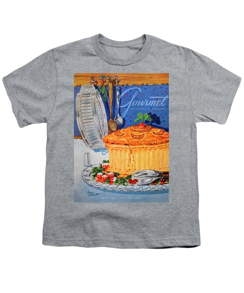 A Gourmet Cover Of Pate En Croute Youth T-Shirt