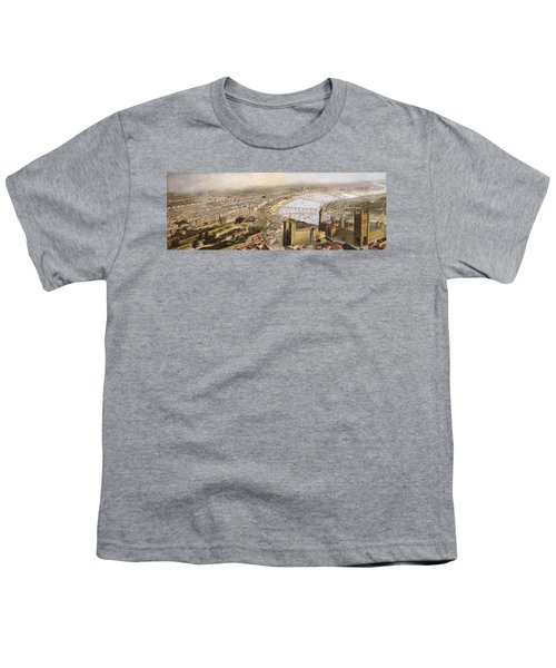 A Panoramic View Of London Youth T-Shirt by English School