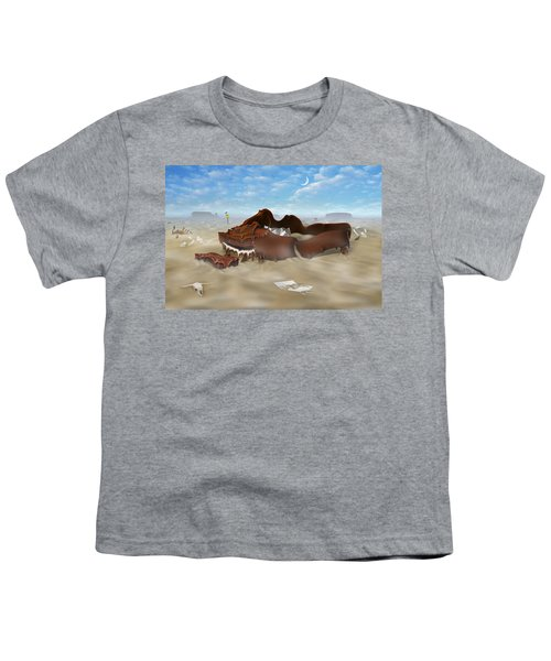 A Slow Death In Piano Valley Youth T-Shirt