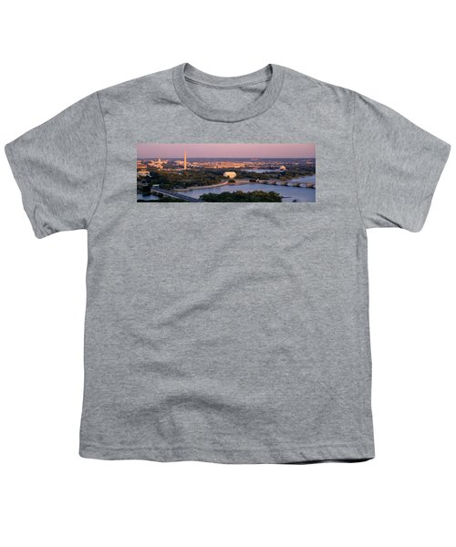Aerial, Washington Dc, District Of Youth T-Shirt
