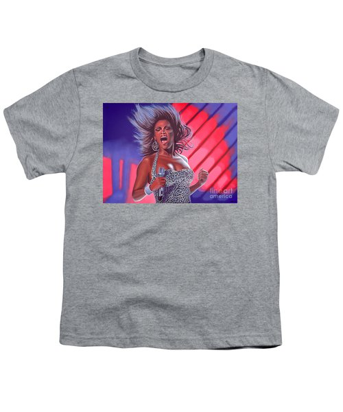 Beyonce Youth T-Shirt by Paul Meijering