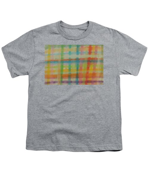 Colorful Plaid Youth T-Shirt