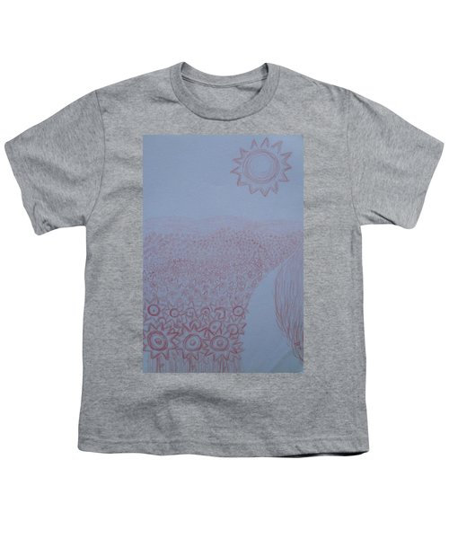 Crazy Quilt Star Gown Youth T-Shirt