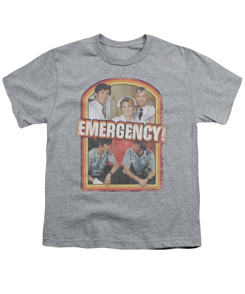 Emergency - Retro Cast Youth T-Shirt