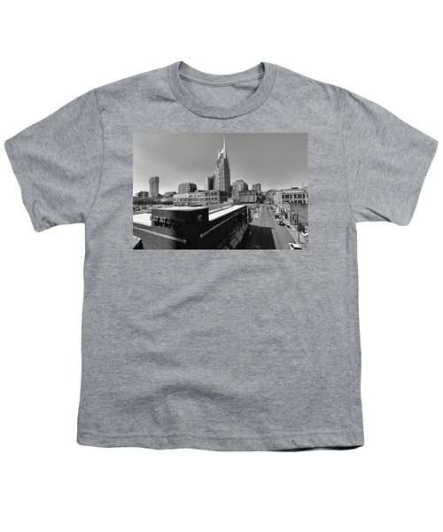 Looking Down On Nashville Youth T-Shirt by Dan Sproul