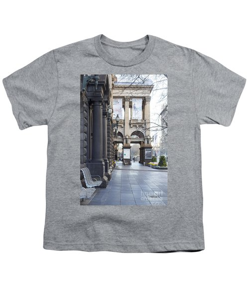 Marvellous Melbourne 3 Youth T-Shirt by Linda Lees