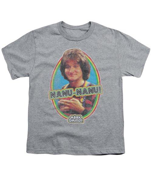 Mork And Mindy - Nanu Nanu Youth T-Shirt