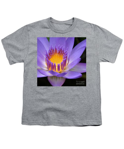 My Soul Dressed In Silence Youth T-Shirt by Sharon Mau