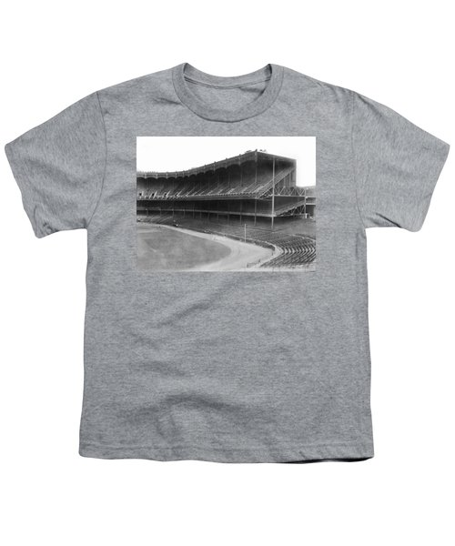 New Yankee Stadium Youth T-Shirt by Underwood Archives