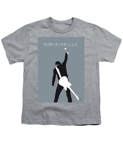 No017 My Bruce Springsteen Minimal Music Poster Youth T-Shirt