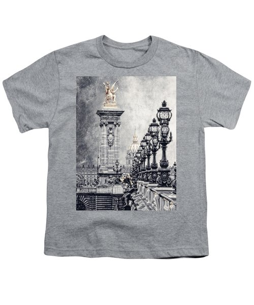 Paris Pompous 2 Youth T-Shirt by Joachim G Pinkawa