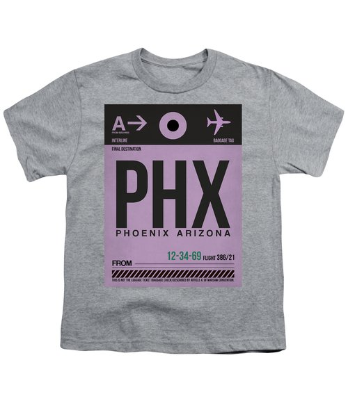 Phoenix Airport Poster 1 Youth T-Shirt
