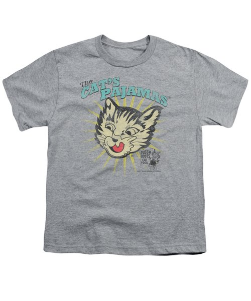 Puss N Boots - Cats Pajamas Youth T-Shirt
