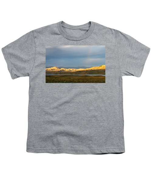 Stormy Sky With Rays Of Sunshine Youth T-Shirt