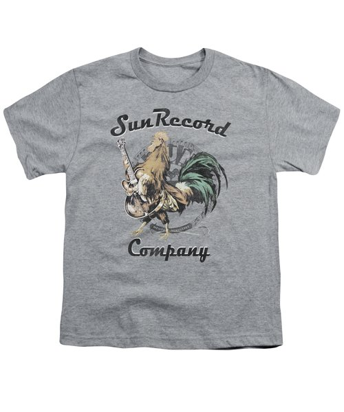 Sun - Rockin Rooster Logo Youth T-Shirt by Brand A