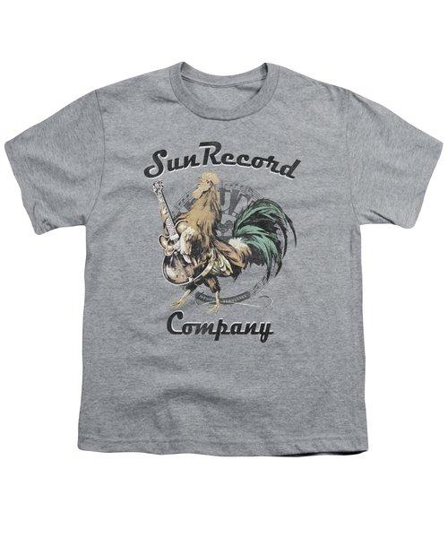 Sun - Rockin Rooster Logo Youth T-Shirt