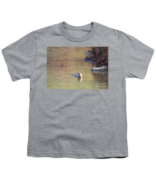 Sunrise Otter Youth T-Shirt